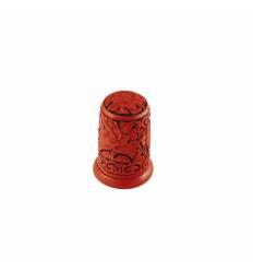 Suport scobitori - clopot rasina lac rosu