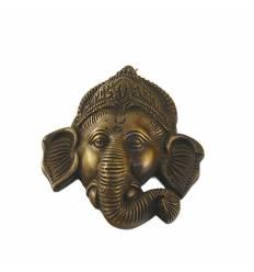 Ganesh bronz mic perete 9 cm