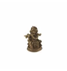 Krishna fluier bronz