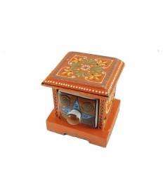 Cutie lemn sertar ceramica