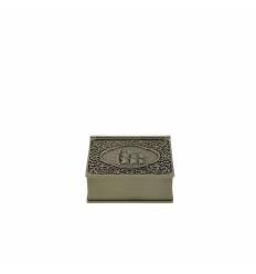 Caseta carte mica zinc