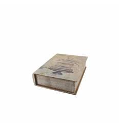 Caseta carte lemn colivie
