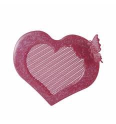 Suport metal cercei inima