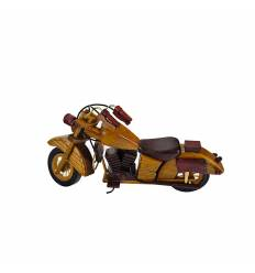 Motocicleta lemn mare