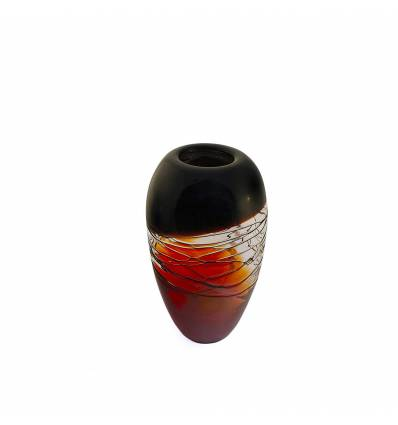 Vaza sticla  visinie mare