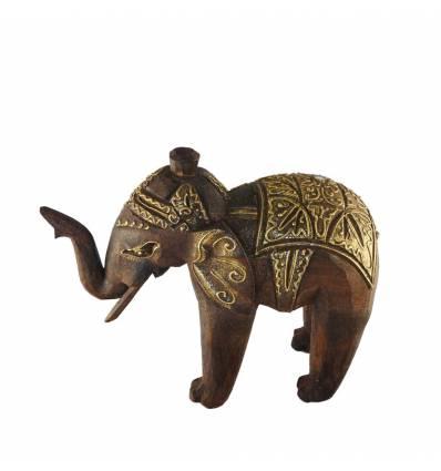Statueta elefant salcam 20cm