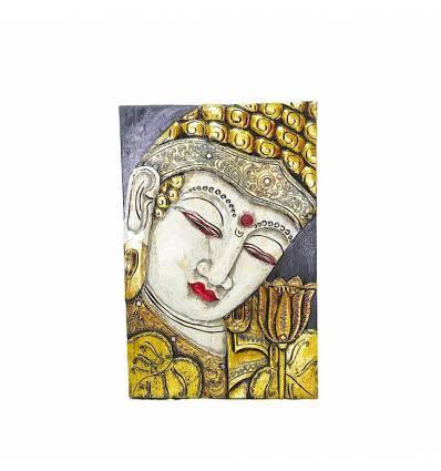 Tablou cu Buddha 40x60 cm cu oglinzi