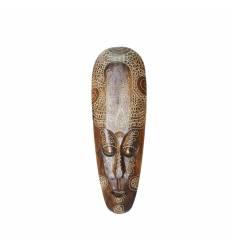Masca 50cm  antica lemn mahon
