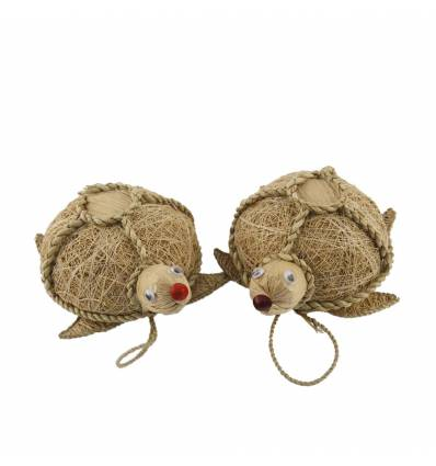 Ornamente lemn  cu papura