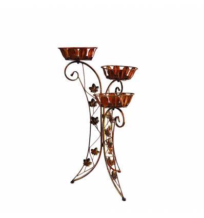 Suport flori metal evantai