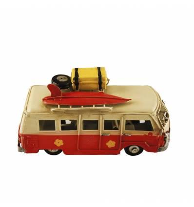 Autobuz metal bagaje + placa surf