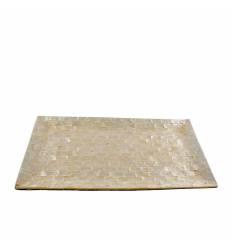 Tava sidef + cocos 20x40 cm