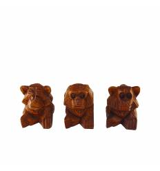 Set 3 maimute  8 cm
