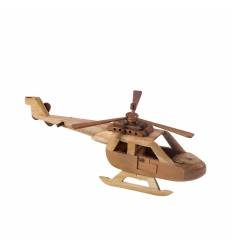 Elicopter mare lemn