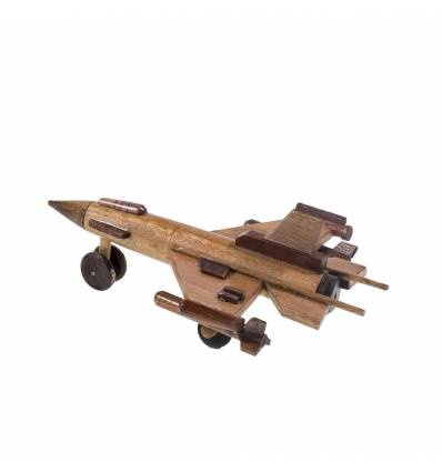 Macheta lemn avion lupta