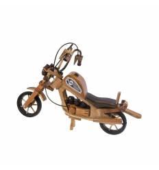Motocicleta mare lemn