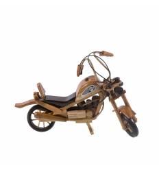 Motocicleta jumbo lemn
