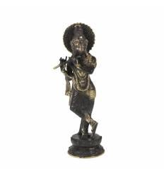 Figurina metal Krishna 25cm