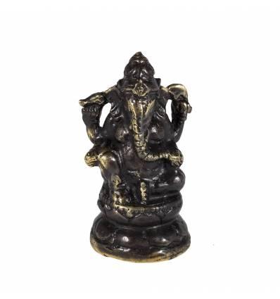 Figurina metal Ganesh 7cm