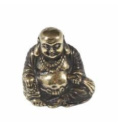 Figurina metal Buddha Fericit 5 cm