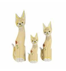 Set 3 pisici 50cm
