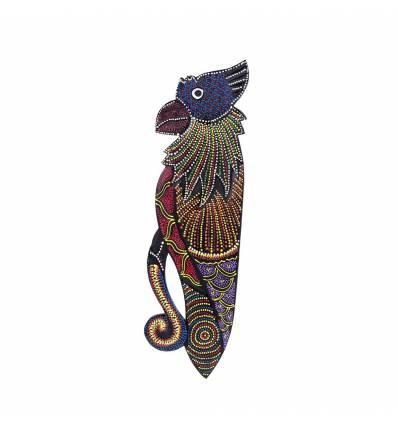 Papagal pictat 50cm