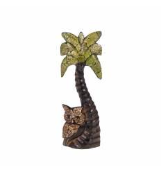 Palmier cu pui bufnita coaja ou 30 cm