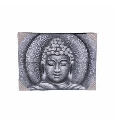 Tablou pictat Buddha orizontal