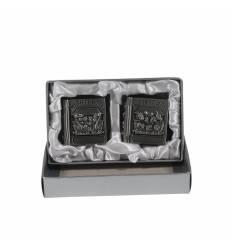 Set 2 casete zinc mici la cutie
