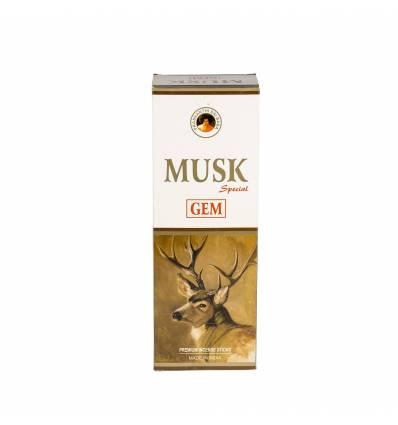 Bete parfumate GEM 6/set, aroma  Musk