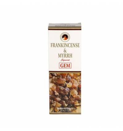 Set 6 cutii a 20 bete parfumate GEM  Frankincence & Myrth