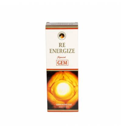 Set 6 cutii a 20 bete parfumate GEM Re Energize
