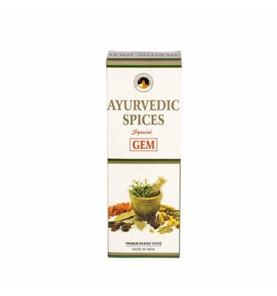 Bete parfumate GEM 6/set, aroma  Ayurvedic Spices