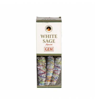 Bete parfumate GEM 6/set, aroma  White Sage