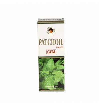 Set 6 cutii a 20 bete parfumate GEM  Patchoil