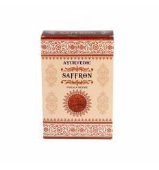 Bete parfumate AYURVEDIC 12/set, aroma  Safron