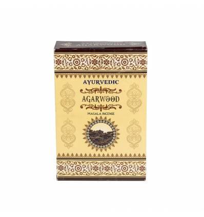Bete parfumate AYURVEDIC 12/set, aroma  Agarwood