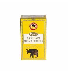 Bete parfumate NAGCHAMPA 12/set, aroma  Masala Chandan