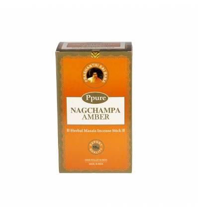 Bete parfumate NAGCHAMPA 12/set, aroma  Amber