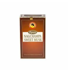 Bete parfumate NAGCHAMPA 12/set, aroma  Sweet Musk
