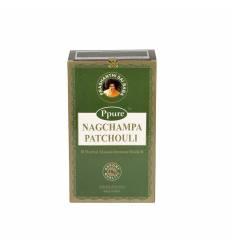 Bete parfumate NAGCHAMPA 12/set, aroma  Green (Patchouli)