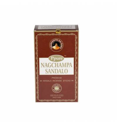 Bete parfumate NAGCHAMPA 12/set, aroma  Sandalwood