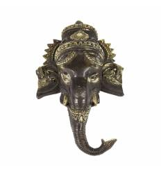 Masca metal Ganesh 32 cm