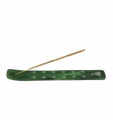 Suport bete talpica lemn verde