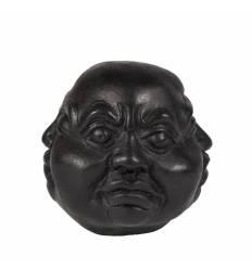 Buddha 4 fete rasina negru