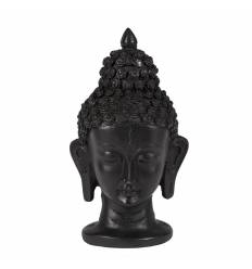 Cap Buddha rasina negru indian