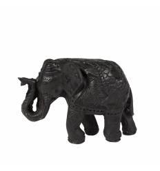Elefant rasina negru