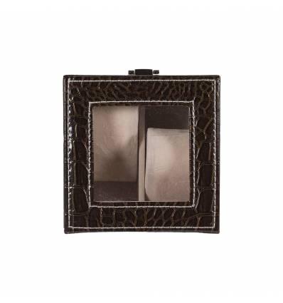 Cutie pentru ceasuri piele sintetica 2 ceasuri A