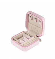 Cutie pentru bijuterii piele sintetica - de voiaj 2