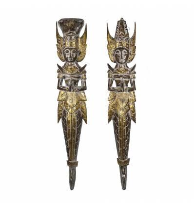 Pereche Rama Sita 100 cm